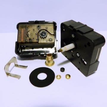 20mm shaft Compact  High Torque UTS euroshaft clock movement, (RHU 003)