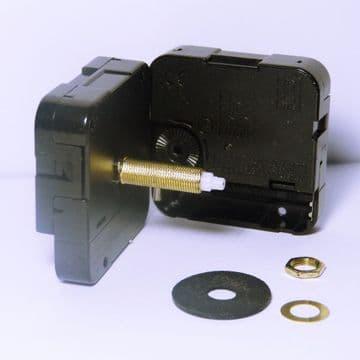 31mm Extra Long Roundshaft High Torque Clock Movement Hr 5.5mm Min 3.6mm