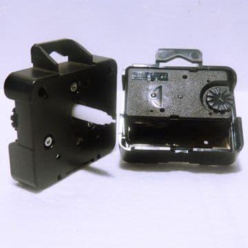 Compact quartz UTS roundshaft clock movement, (20mm shaft)