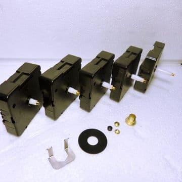 Quartz UTS Euroshaft German clock movement, 5 different shaft lengths, (Q800)