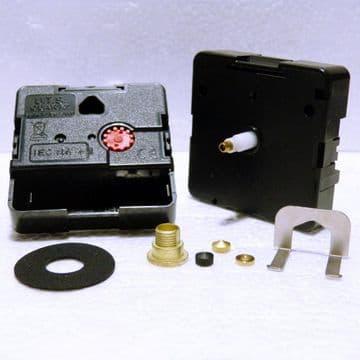 Quartz UTS reversing clock movement backward mechanism