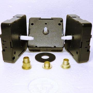 Quartz UTS roundshaft-NEF fitting, 11mm, 16mm or 20mm shaft