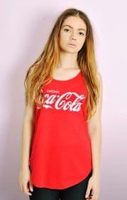 'Drink Coca Cola' Tee Vest