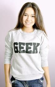 """Geek"" Sweatshirt"