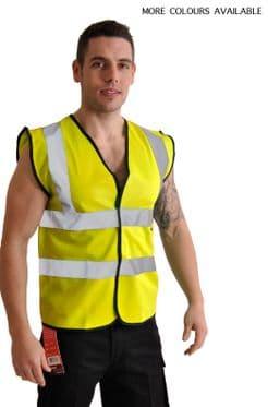 High Visibility Safety Vest