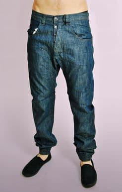 Lightweight Dark Blue Denim Jeans