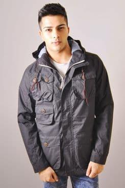 Lightweight Pocket Jacket In Black