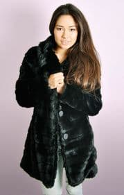Midi Faux Fur Coat
