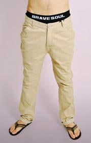 Stone Cotton Chinos