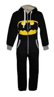 Unisex Junior Batman Onesie with Hood