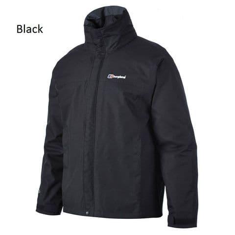 Berghaus Mens RG Alpha Jacket - Waterproof - Breathable - Hideaway hood