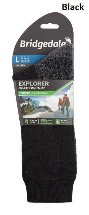 Bridgedale Unisex Explorer Heavyweight Merino Performance Sock