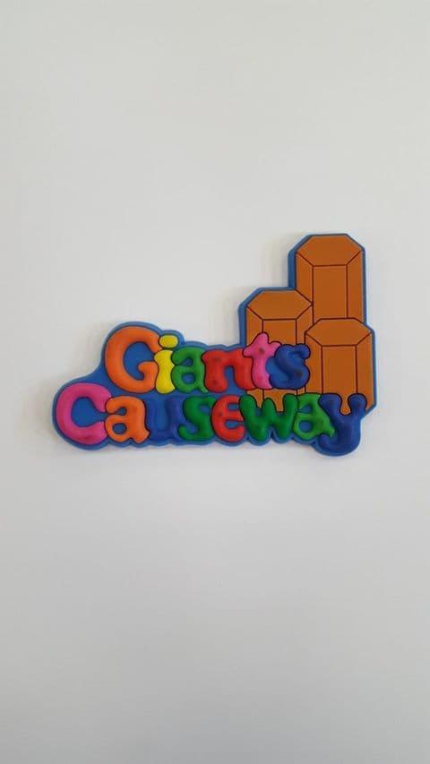 Giants Causeway Magnet