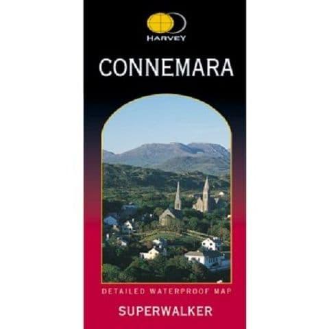 Harvey Superwalker - Connemara Map - Waterproof, 1:30000