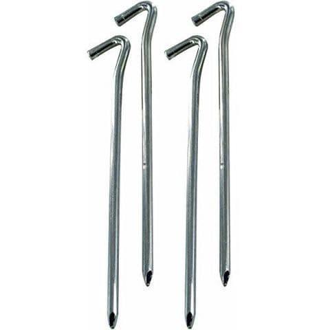 """Highlander 9"""" Heavy Duty Wire Steel Pegs - 4 Pack"""