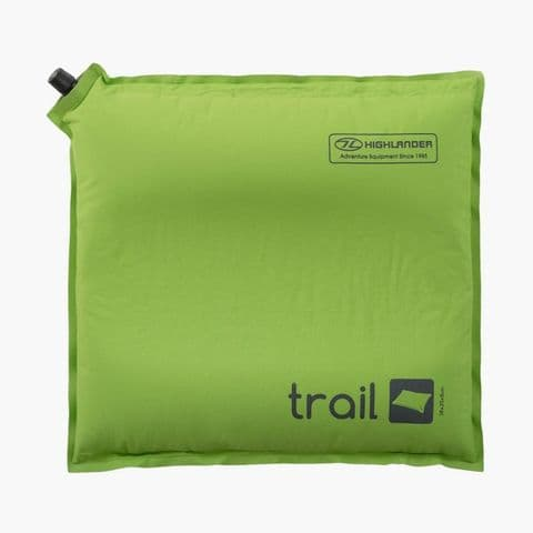 Highlander Trail Self Inflate Pillow Green
