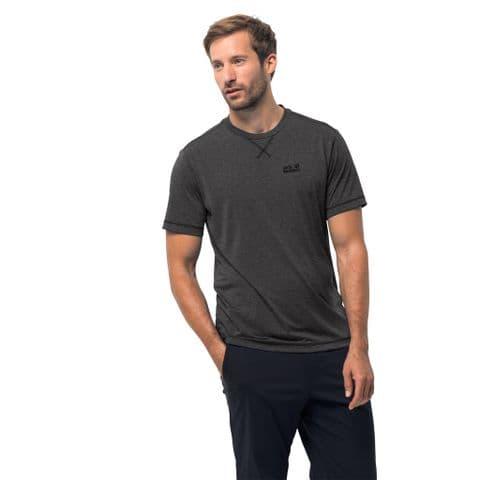 Jack Wolfskin Mens Crosstrail Tee - Functional T-Shirt