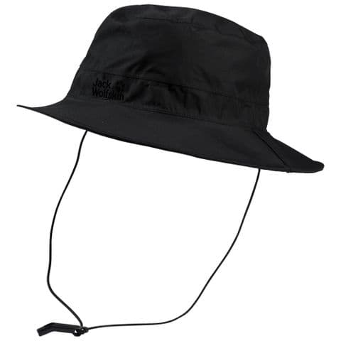 Jack Wolfskin Texapore Ecosphere Rain Hat - Waterproof/Breathable