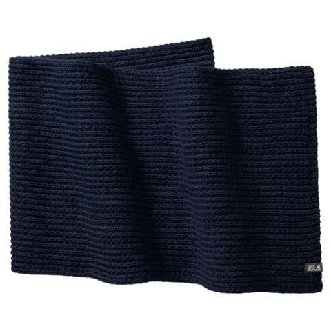 Jack Wolfskin Unisex Milton Scarf - Knitted Scarf - Warm