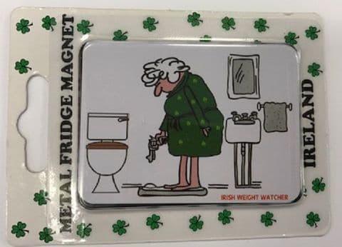 Liffey Artefacts Irish Magnet - Weight Watcher
