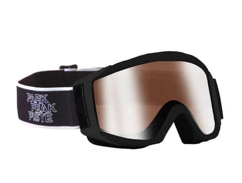 Manbi Unisex Adult Apollo Goggle Black Matt / Skiing Goggle / Anti Fog