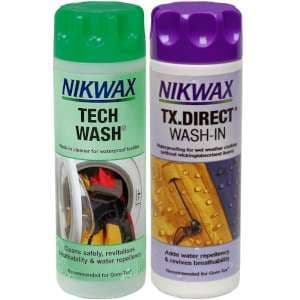 Nikwax Tech Wash & TX Direct Twin Pack 300 ml