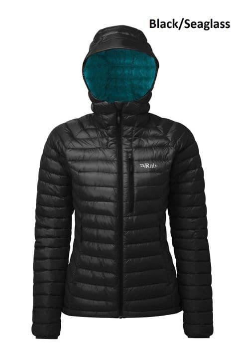 Rab Womens Microlight Alpine Down Jacket - Warm - Lightweight