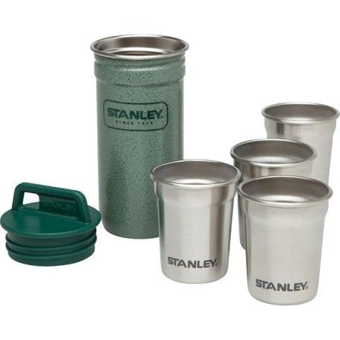 Stanley Packable Shot Glass Set - Stainless Steel