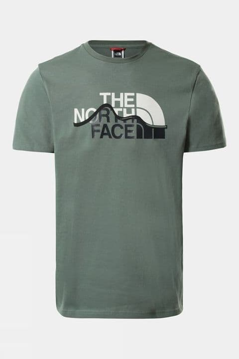 The North Face Mountain Line Short Sleeve Tee Mens