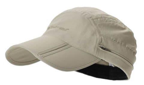 Trekmates Atacama Cap - Headgear, Hood, UV 50 + Protection, Foldable