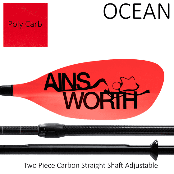 OCEAN (Poly Carb) Two Piece Carbon Adjustable