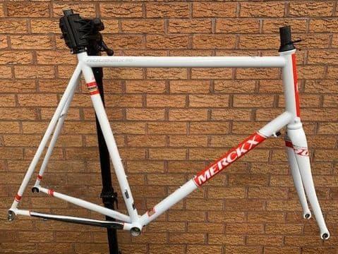 Eddy Merckx Roubaix 70 Road Bike Columbus Zona Steel Frame & Carbon Fork XXL