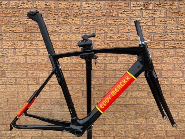 Eddy Merckx San Remo 76 Carbon Road Bike Frameset Frame & Fork - Retro Colour