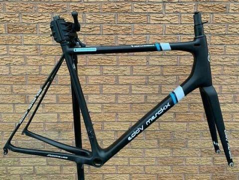 Eddy Merckx Stockeu 69 Ex-Team AG2R / Ridley Helium SLX Carbon Frameset - Large