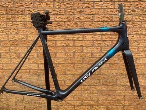 Eddy Merckx Stockeu 69 / Ridley Helium SLX Carbon Frameset Medium
