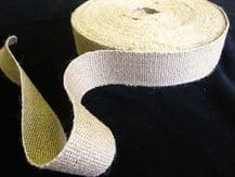 1 reel of  STRONG  jute upholstery webbing seat seating tape - 33mt 2 inch 11lb