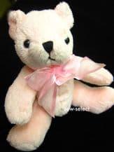 2 Teddy bear curtain tiebacks Childs Nursery baby soft toy teddies tie backs tie