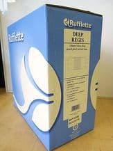 50 mt Roll of Rufflette DEEP Regis pencil pleat curtain pleating tape 138mm