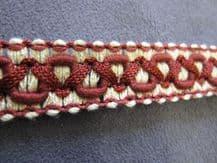 Chair braid trimming fabric material trim curtain edge