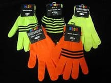 Magic neon gloves - ONE SIZE - unisex boy girl winter fashion gloves 2 in 1