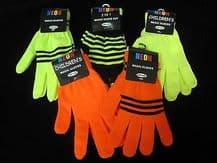 Magic neon gloves - ONE SIZE - unisex boy girl winter fashion gloves 2 in 1