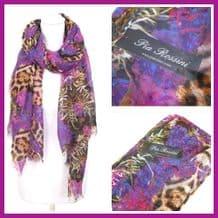 Pia Rossini Deandra Summer Scarf Ladies Gift Womens Xmas Christmas birthday