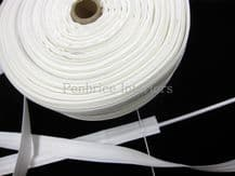 Roman blind tape 100m trade reel 2cm wide for 5mm rods Sew slot slotted loop