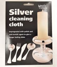 Silver Cleaning Cloth Specialist Impregnated Metal Polish Care Shine Buff Cloth