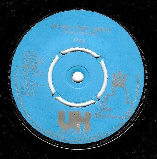 10CC The Wall Street Shuffle Vinyl Record 7 Inch UK 1974