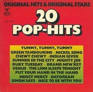 20 Pop-Hits Vinyl Record LP Buddah KMLP 350 German