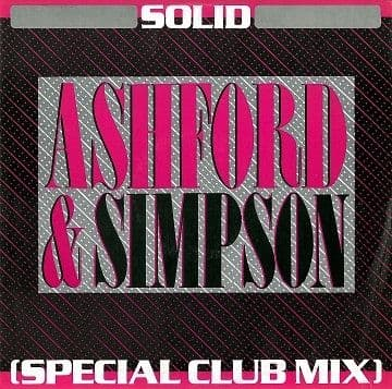 "ASHFORD & SIMPSON Solid (Special Club Mix) 12"" Single Vinyl Record Capitol 1984."