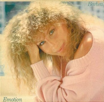 BARBRA STREISAND Emotion LP Vinyl Record Album 33rpm Portugese CBS 1984