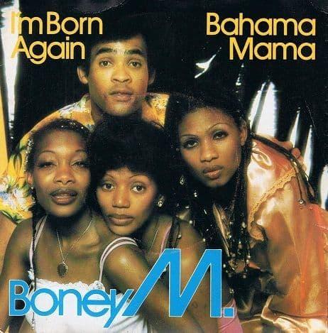 BONEY M I'm Born Again Vinyl Record 7 Inch Atlantic 1979