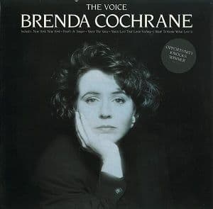 BRENDA COCHRANE The Voice Vinyl Record LP Polydor 1990